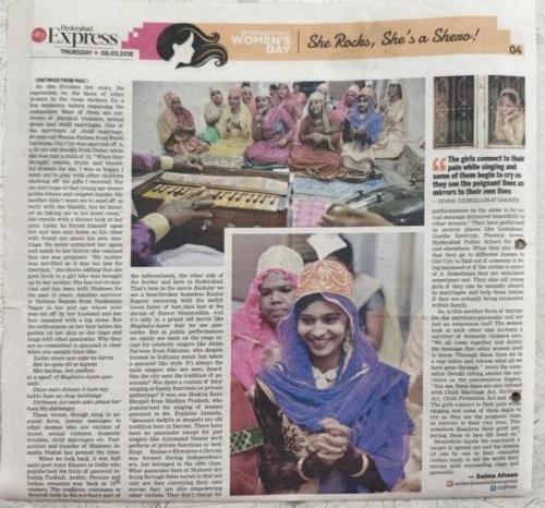 Women-Hero Overcoming Child Marriage