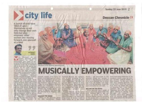 Musically Empowering Women Qawwals